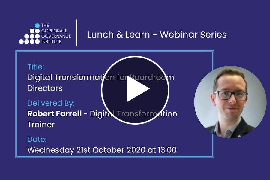 Digital Transformation for Boardroom Directors