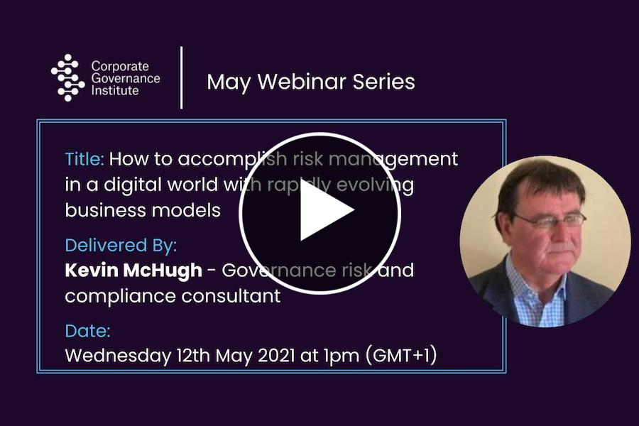 How to accomplish risk management in a digital world with rapidly evolving business models