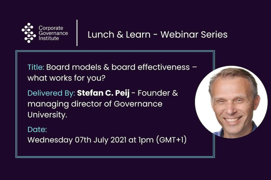 Board models and board effectiveness – what works for you?