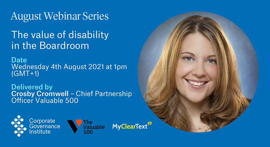 The value of disability in the Boardroom