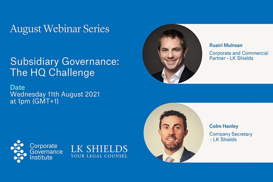 what is Subsidiary Governance: The HQ Challenge