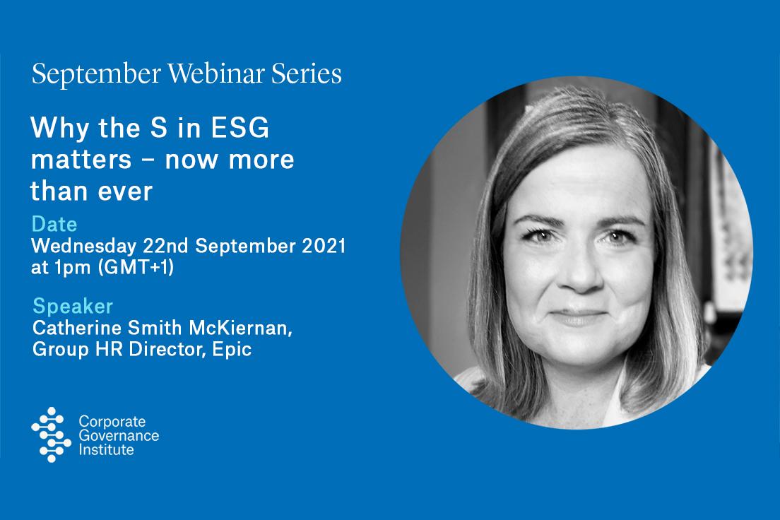 the S in ESG