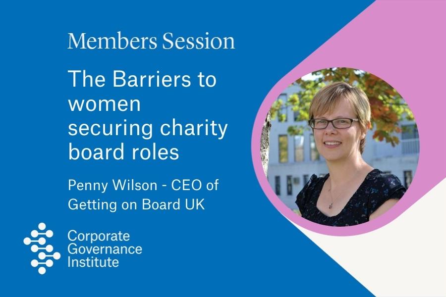 barriers to women seeking board roles